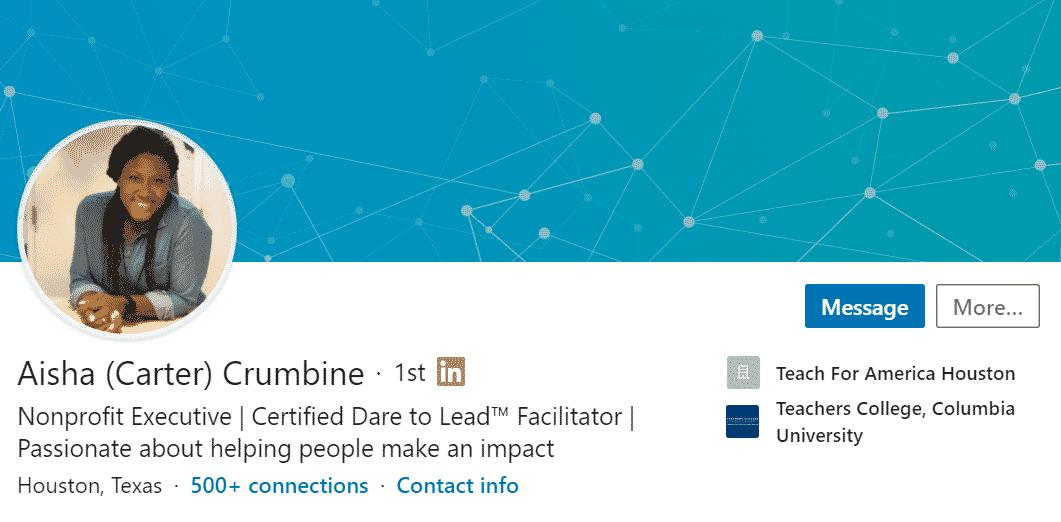 WorkMonger Education Management Career Blog: LinkedIn Headline Example